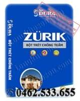 Bột bả Dura chống thấm Zurik