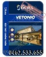 Bột bả Dura chống thấm ngoại thất Vetonic