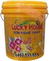 Sơn vân đá VĐ3 Lucky House