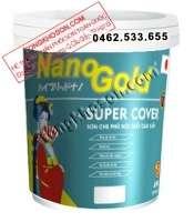 Sơn NanoGold Super Cover nội thất mịn