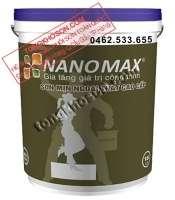 Sơn Nanomax ngoại thất mịn