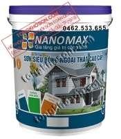 Sơn Nanomax ngoại thất siêu bóng