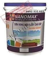 Sơn Nanomax nội thất bóng