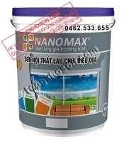 Sơn Nanomax nội thất lau chùi hiệu quả