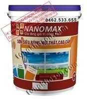 Sơn Nanomax nội thất siêu bóng