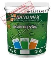 Sơn chống thấm Nanomax pha xi măng