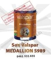 Sơn Valspar Medallion ngoại thất siêu bóng S989