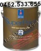 Sơn Sherwin Williams Superpaint ngoại thất siêu bóng