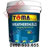 Sơn Toma Weathershield ngoại thất cao cấp