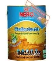 Sơn Nero ngoại thất bóng mờ Weather Durable