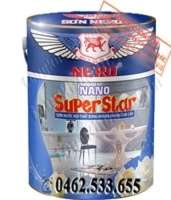 Sơn Nero Nano Super Star nội thất bóng kháng khuẩn