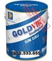 Sơn dầu Petrolimex GoldVik dùng cho gỗ và kim loại