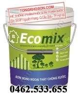 Sơn Ecomix ECO-929 sơn phủ màu ngoại thất chống chầy xước