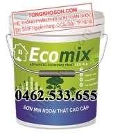 Sơn Ecomix ECO-919 sơn phủ ngoại thất mịn