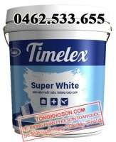 Sơn siêu trắng Timelex nội thất Super White