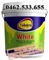 Sơn siêu trắng Kobepro White nội thất