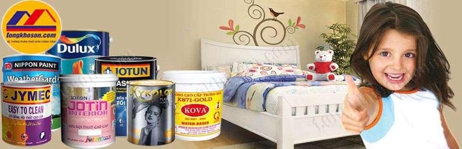 Tổng kho sơn cung cấp sơn chất lượng và thương hiệu