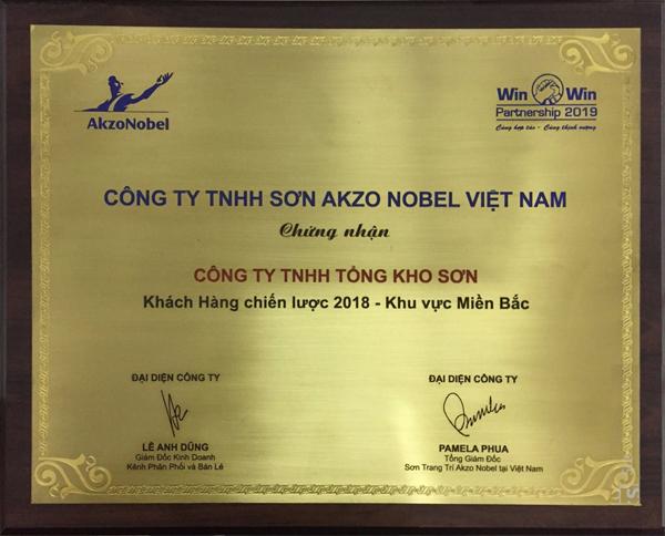 Tongkhoson.com là khách hàng chiến lược 2018 - khu vực miền Bắc