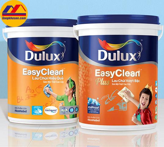 Sơn Dulxu EasyClean lau chùi hiệu quả
