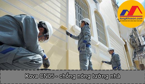 Kova Cn5 chống nóng cho nhà bớt nóng
