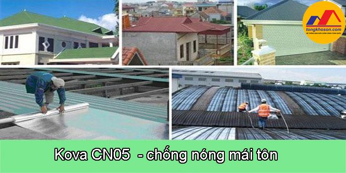 Kova CN5 - chống nóng hiệu quả cho mái tôn