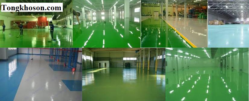 Sơn sàn epoxy thi công và báo giá | Tongkhoson.com