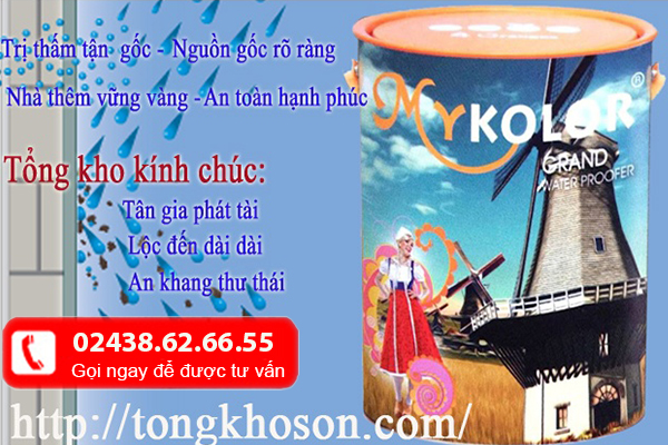 chống thấm mykolor 03