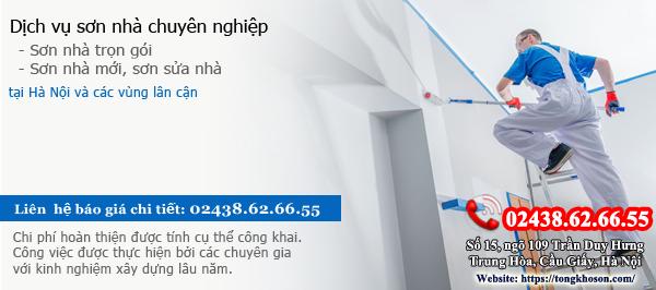 Dịch vụ sơn nhà 02438.62.66.55
