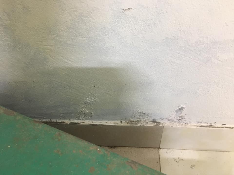 Hiện tượng muối hóa chân tường