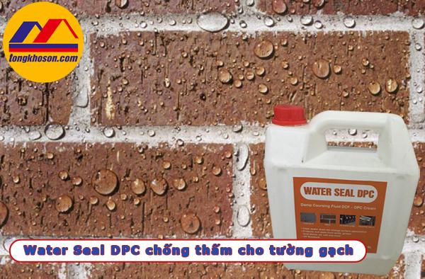 Water Seal chống thấm cho tường gạch không trát