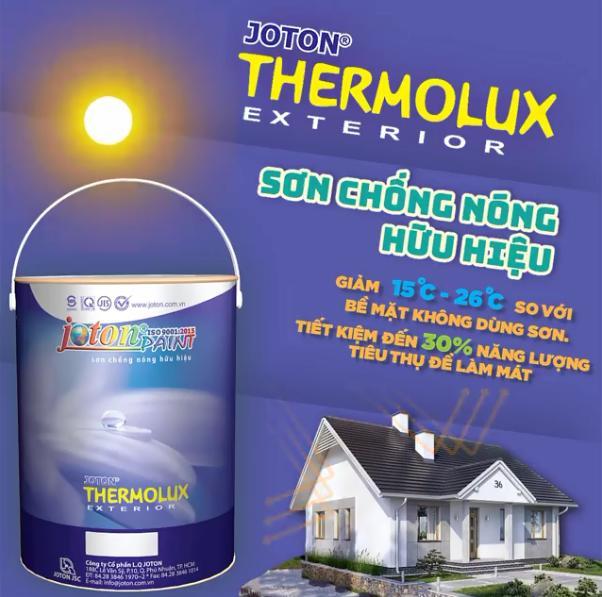 sơn Joton Thermolux chống nóng hữu hiệu