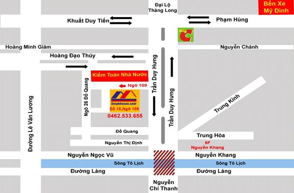 Địa chỉ Văn phòng Tổng kho sơn