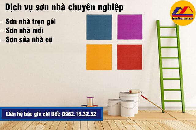 Cần sơn nhà tại Cầu Giấy giá rẻ - Gọi ngay 0962.15.32.32